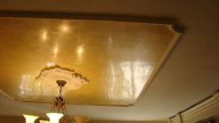 Estuco Amarillo con cera gel