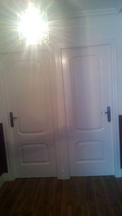 Lacado de puertas en Blanco Satinado