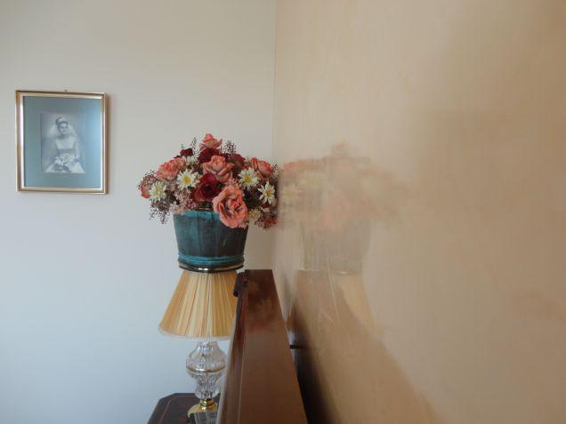 Estuco Veneciano Espatuleado con Veteado y Cera Kepi color Crema (18)