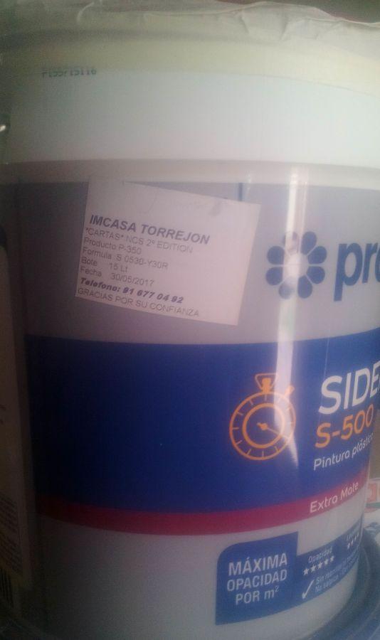 Plastico Sideral 500 S-0530-y30r
