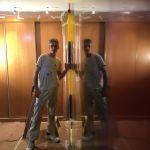 Estuco Veneciano Original a rayas amarillas y negras Borussia Dortmund (27)