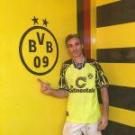 Estuco Veneciano Original a rayas amarillas y negras Borussia Dortmund (45)