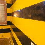Estuco Veneciano Original a rayas amarillas y negras Borussia Dortmund (92)