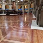 Barnizado de Parquet en el Palacio de la Bolsa de Madrid (1)