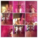 Estuco Veneciano Violeta en Dormitorio-COLLAGE