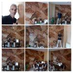 Estuco Marmol Piedra Marron 5 colores - COLLAGE