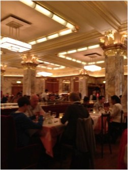 The Brasserie inside Brasserie Zedel