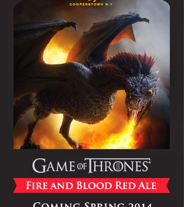 Game of Thrones: Fire and Blood Red Ale – a BRC and BeerGaggle Review