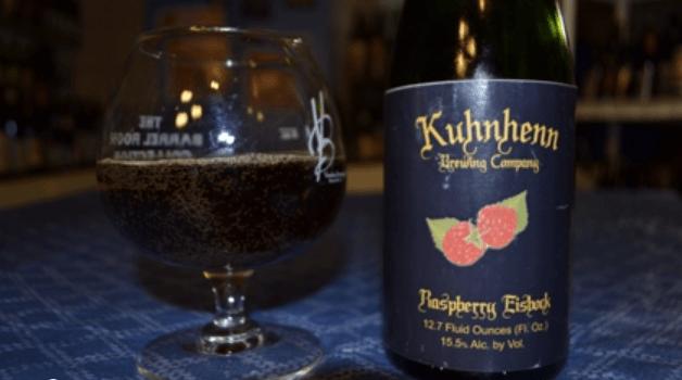 Kuhnhenn Raspberry Eisbock Craft Beer Review