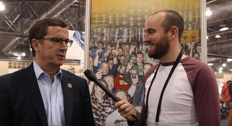 Interview with Brewers Assocation CEO Bob Pease