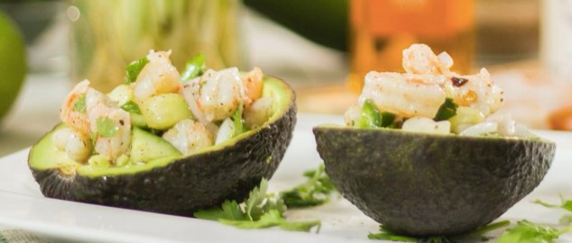Quarantine Recipe – Peruvian Shrimp and Avocado Ceviche by Chef Dan
