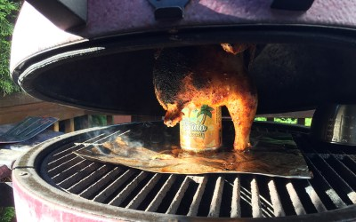Locally Sourced Craft Beer Can Chicken | Ohio BBQ