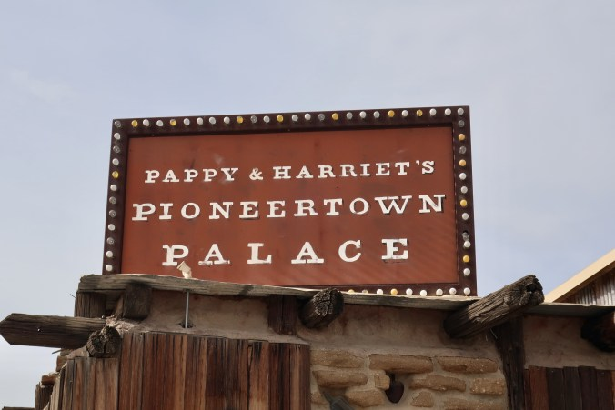 Pappy & Harriet's Pioneertown Palace – Pioneertown, CA