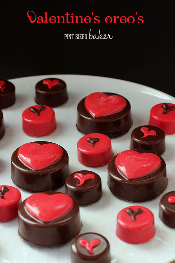 Chocolate Covered Oreos For Valentines Day Pint Sized
