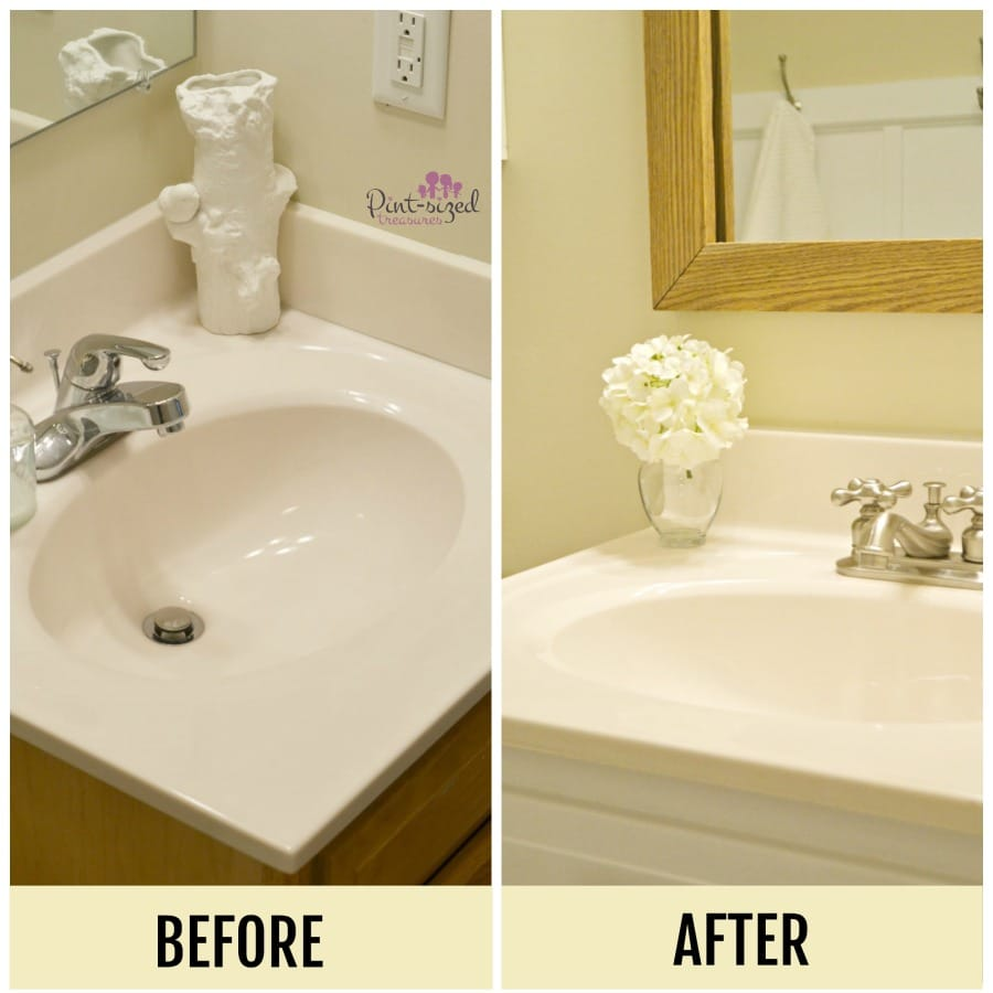 Simple Bathroom Updates Busy Moms Can Do  Pintsized Treasures