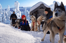 ' Dreaming Of White Christmas - In Finnish Lapland