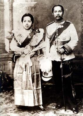 royal incest: King Chulalongkorn of Thailand and his sister/queen, Saovabha Bongsri
