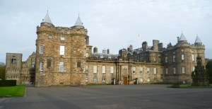 Holyrood Palace: the presidential/ducal residence?