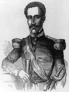 Buenaventura Báez, five times President of the Domincan Republic
