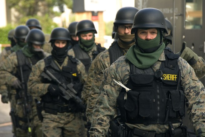 a sheriff's SWAT team -- police reform image