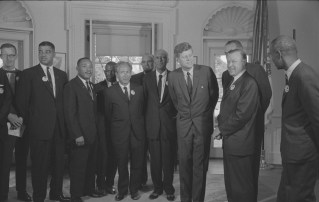 Kennedy and civil rights leaders: a step toward justice and polarized America