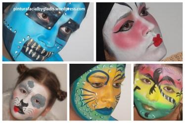Pintura Facial by Gladis_Atibaia (15)