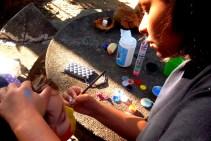 Maquiagem Artística Infantil - criancas- dino - peixe - mascara (16)