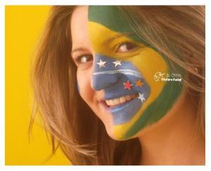 PINTURA FACIAL BY GLADIS + COPA + BRASIL _ TORCIDA + MAQUIAGEM + TORCEDOR + 2014 + BRASIL + SÃO PAULO + CAMPINAS (17)