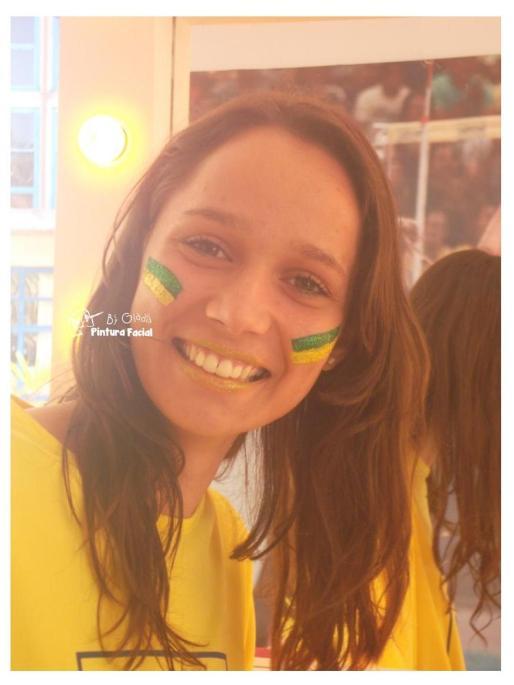 PINTURA FACIAL BY GLADIS + COPA + BRASIL _ TORCIDA + MAQUIAGEM + TORCEDOR + 2014 + BRASIL + SÃO PAULO + CAMPINAS (7)