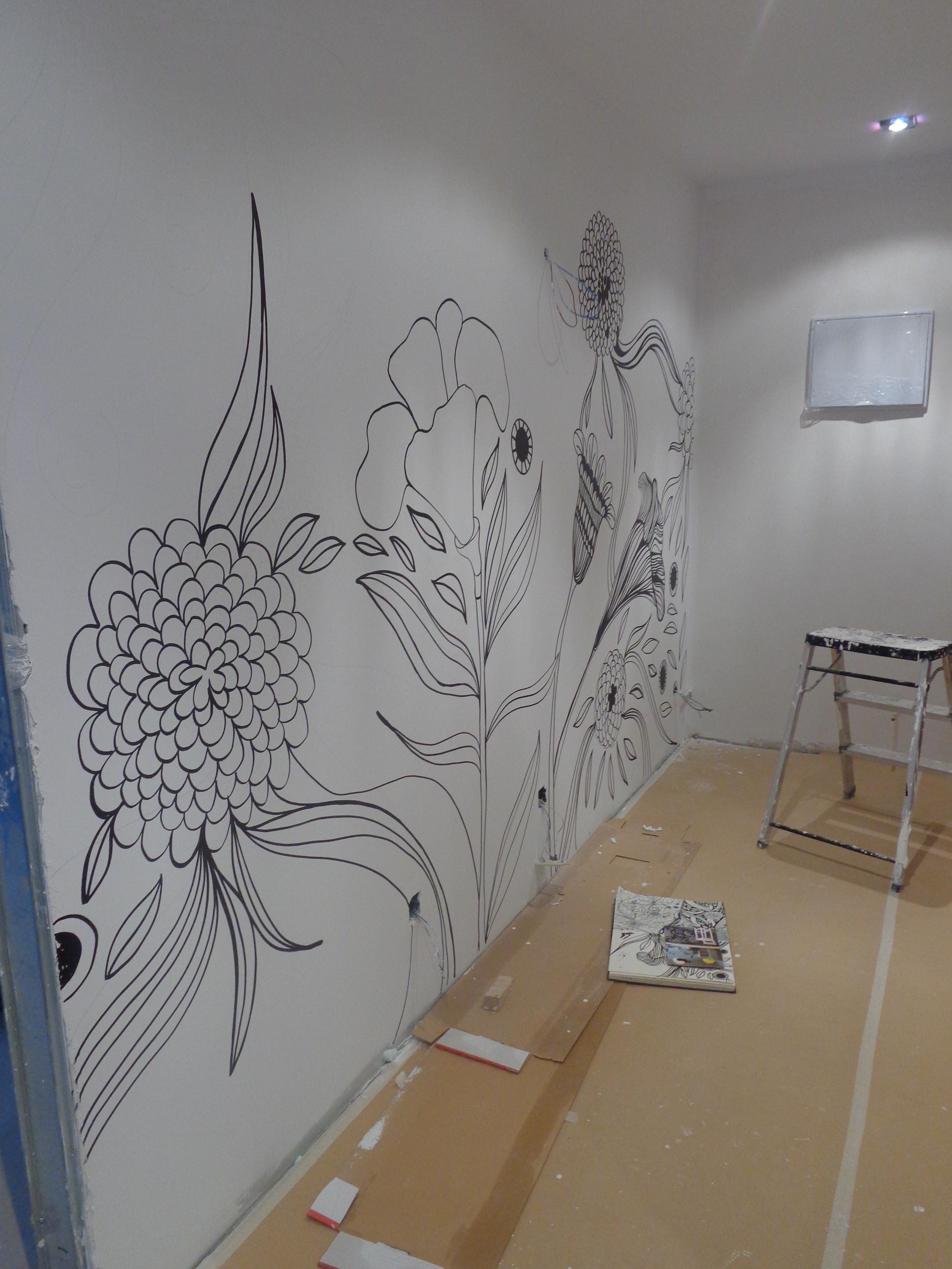 Pintura mural para vivienda  Pintura y Murales