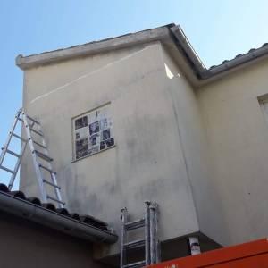 pintar paredes exteriores