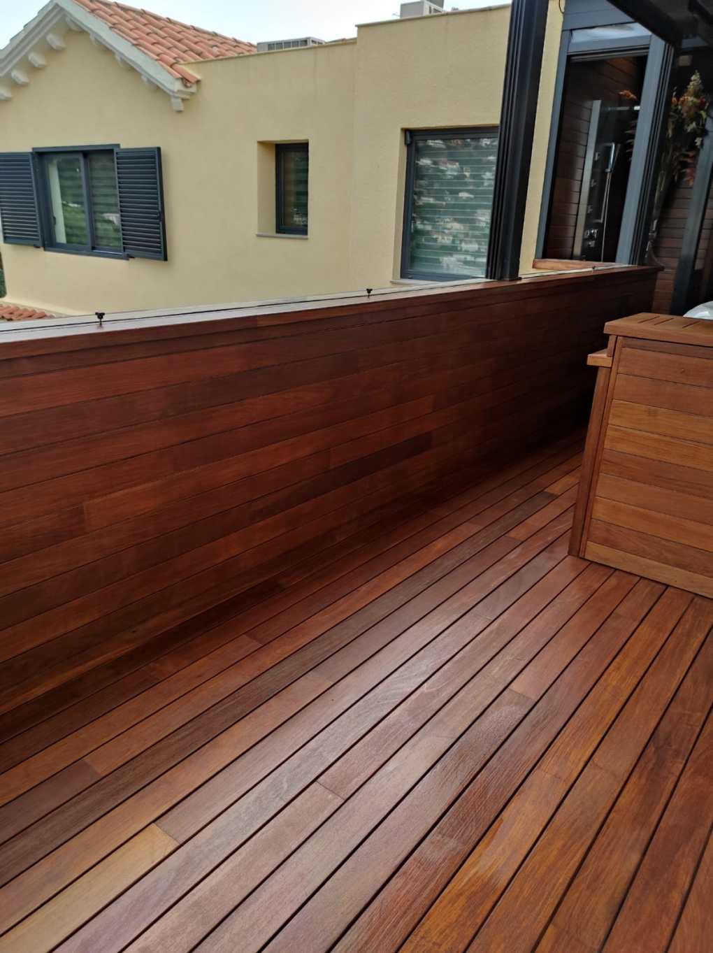 mantenimiento de maderas exoticas