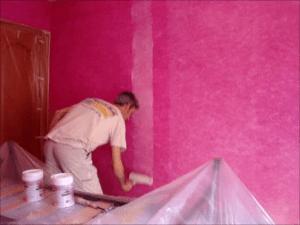 Protector Satinado sobre tierras florentinas rosa chicle