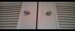 Lacado de armarios en blanco