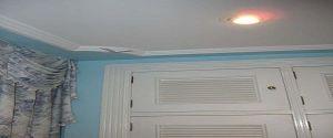 Lacado de Paredes en Color Azul