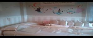 Papel Pintado a Rayas infantil