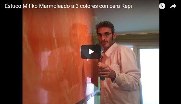 Estuco Mitiko Marmoleado a 3 colores