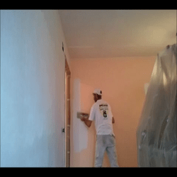 Pintor en Madrid - Tapar Gotele Plastificado