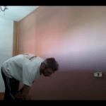 Esmalte al agua color Marron en Dormitorio de Coslada (6)