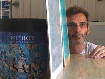 Muestra Estuco Mitiko Color Gris y Turquesa (3)