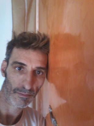 Estuco Veneciano Veteado Color Naranja (20)