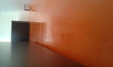 Estuco Veneciano Veteado Color Naranja (5)