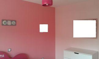 Plastico Color Rosa Claro y Esmalte Rosa Oscuro (10)