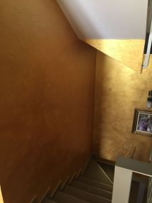 Cera Metal Oro Sobre Efecto Rustico Brisa - Mañana (11)