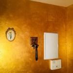 Cera Metal Oro Sobre Efecto Rustico Brisa - Mañana (61)