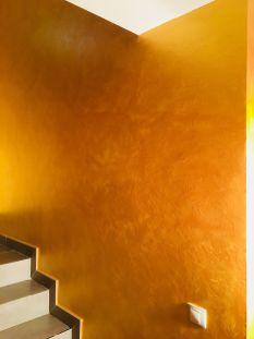 Cera Metal Oro Sobre Efecto Rustico Brisa - Mañana (68)