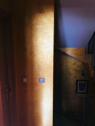 Cera Metal Oro Sobre Efecto Rustico Brisa - Mañana (81)
