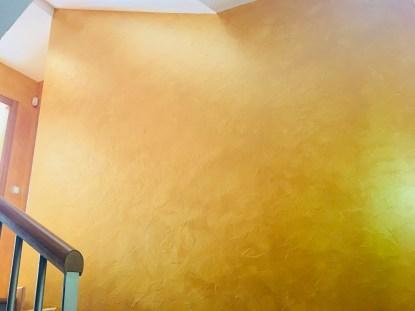 Cera Metal Oro Sobre Efecto Rustico Brisa - Mañana (87)