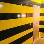Estuco Veneciano Original a rayas amarillas y negras Borussia Dortmund (102)