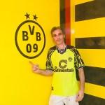 Estuco Veneciano Original a rayas amarillas y negras Borussia Dortmund (107)